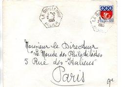 Sur Enveloppe Cachets Postaux  LA GUILLERMIE  ALLIER  1965 - 1961-....