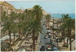 Alicante: CITROËN AMI 6, SEAT 1400C, 1500, 4x RENAULT DAUPHINE, SIMCA ARIANE, CARAVAN - Playa De Postiguet - PKW