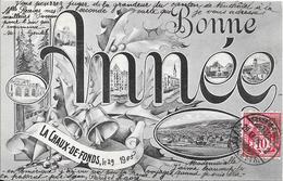 Bonne Année - LA CHAUX-DE-FONDS Le 29, 1905 - NE Neuchâtel