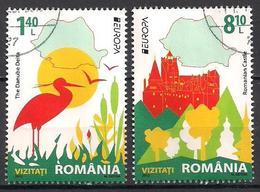 Rumänien / Romania  (2012)  Mi.Nr.  6617 + 6618  Gest. / Used  (4gh17)  EUROPA - Europa-CEPT