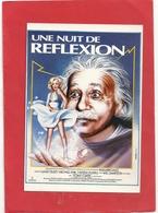 """""""  UNE NUIT DE REFLEXION   """"    FILM AVEC TONY CURTIS   . CARTE NON ECRITE - Affiches Sur Carte"""