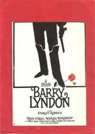 """""""  BARRY LYNDON    """"    FILM AVEC RYAN O'NEAL - MARISA BERENSON   . CARTE NON ECRITE - Affiches Sur Carte"""