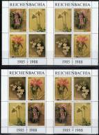 "GUYANA - ORCHIDEES - N°1819/1834  ** (1988)  ""REICHENBACHIA"" - Orchidee"
