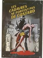 """""""  LES CADAVRES NE PORTENT PAS DE COSTARD    """"    FILM AVEC CARL REINER - STEVE MARTIN . CARTE NON ECRITE - Affiches Sur Carte"""