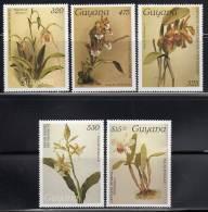 GUYANA - ORCHIDEES - N°1809/13  ** (1988) - Guiana (1966-...)