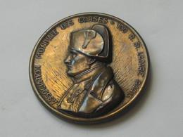 Médaille Association Mondiale Des Corses - A Tous Les Corses ! - Aime Ton Pays   **** EN ACHAT IMMEDIAT **** - Firma's