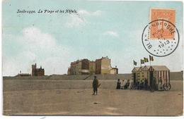 ZEEBRUGES : La Plage Et Les Hôtels - 1913 - Brugge
