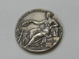 Médaille Moralité-Travail-Dévouement - Socièté National D'encouragement Au Bien    **** EN ACHAT IMMEDIAT **** - Firma's