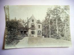 PHOTO ALBUMINE DEBUT 20 EME BAGNOLES DE L ORNE VILLA REGINA Format 12 / 18.5 CMS PAPIER MINCE - Old (before 1900)