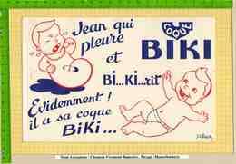 BUVARD : Jean Qui Pleure Et BI..KI..rit Signe JL Pesch - Kinder