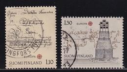 Finland 1979, Europe, Lighthouse, Complete Set Vfu - Gebraucht