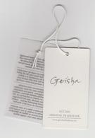 Clothing Label-kledinglabel-etiquette-etikett Geisha Fashion Orginal Trademark - Historische Bekleidung & Wäsche