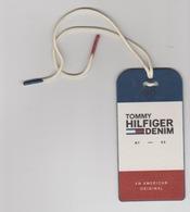 Clothing Label-kledinglabel-etiquette-etikett Tommy Hilfiger Denim - Historische Bekleidung & Wäsche