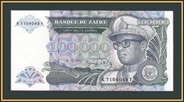 Zaire 100000 Zaire 1992 P-41 (41a) UNC - Zaire