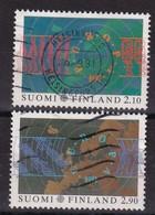 Finland 1991, Europe, Complete Set Vfu. Cv 3 Euro - Oblitérés