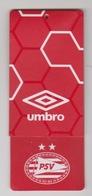Clothing Label-kledinglabel-etiquette-etikett UMBRO PSV Eindhoven - Historische Bekleidung & Wäsche