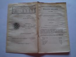 1870 Plébiscite De Napoléon III, Résultats Par Département - Décrets & Lois