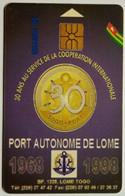 Togo Port Autonome De Lome 50 Units - Togo