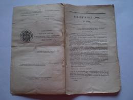 1870 Chemin De Fer Saint Nazaire Au Croisic: Cachier Des Charges, Tarifs Voyageurs,marchandises,animaux ..... 20 Pages - Gesetze & Erlasse