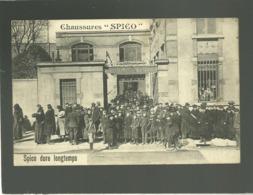 54 Nancy Usine Chaussures Spico Pub Spico Dure Longtemps  3 à 7 Rue Du Faubourg Ste Catherine Sortie Des Ouvriers - Nancy