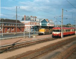 PHOTO 13 X 10  BETHUNE TRAIN EN GARE - Bethune