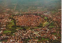LUCCA - VEDUTA AEREA - PANORAMA - NON VIAGGIATA - Lucca
