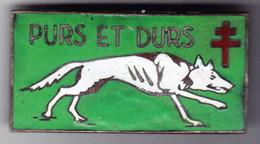 2° CA. 2° Corps D'Armée. Purs Et Durs. émail Grand Feu. Matriculé 257. Artisanale PBW Du Caire. - Army