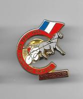 PINS  Courses équestre GRAND NATIONAL DU TROT 1992 A VINCENNES Signé Starpins  / 33NAT - Badges