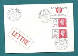 Aisne - ATHIES SOUS LAON. JOURNEE DU TIMBRE. 1994 - Commemorative Postmarks