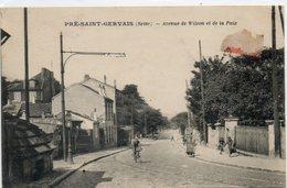 93  PRE SAINT GERVAIS    Avenue De Wilson Et De La Paix - France