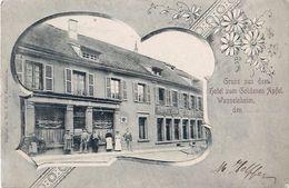 Cpa  WASSELNHEIM - WASSELONNE 67 - Gruss Aus Dem Hotel Zum Goldenen Apfel - Brauerei GRUBER & Co - Wasselonne