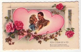 Carte Postale Ancienne - Germaine BOURET - Mon Coeur Est à Toi - Bouret, Germaine