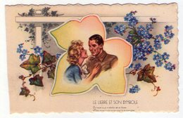 Carte Postale Ancienne - Germaine BOURET - Le Lierre Et Son Symbole - Bouret, Germaine