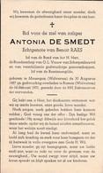 Meusegem, Rossem, 1951, Antonia De Smedt, Raes - Images Religieuses