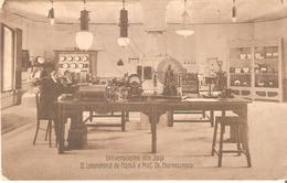 Ci02522 Romania Iasi University Physics Laboratory Prof Hurmuzescu Electrotechnics Science Radiophony C 1920 Photo Weiss - Rumania