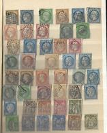 Album De Timbres Oblitèrrés Du N° 1 Au N° 803 (de 1850 à 1948) Départ à 1 Euro Bonne Cote - Collezioni