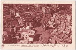 CASABLANCA. La Place De France Vue En Avion. 2-28 - Casablanca