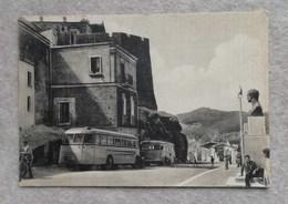 Cartolina Illustrata Cirò - Piazza L.Siciliani E Corso Umberto, Per Napoli 1957 - Italy