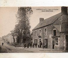 Landéan -   Route  De  Fougères -  Café  Gontier. - Other Municipalities