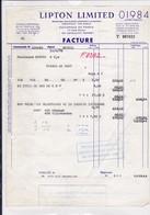 92-Lipton Limited....Levallois-Perret....(Hauts-de-Seine)....1970 - Alimentare