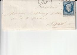 1856,, Brest - Storia Postale