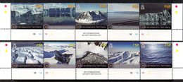 Antarctique Britannique 0580/89 Et Bf 019 Glaciers , Brise-glace , Bateau - Spedizioni Antartiche