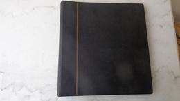 Album SAFE Couleur Noire Avec 28 Pages Pour Carnets Ou Fragments De Feuilles - Bindwerk Met Pagina's