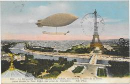 PARIS : LE DIRIGEABLE VILLE DE PARIS - France