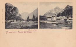 1374/ Gruss Aus Schluderbach, Monte Pian, Rothwand - Andere Steden