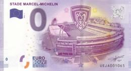FRANCE - Billet Touristique 0 €uro 2016 / STADE MARCEL-MICHELIN. - Essais Privés / Non-officiels