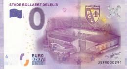 FRANCE - Billet Touristique 0 €uro 2016 / STADE BOLLAERT-DELELIS. - Essais Privés / Non-officiels