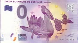 FRANCE - Billet Touristique 0 €uro 2016 / JARDIN BOTANIQUE DE DESHAIES. - Essais Privés / Non-officiels