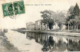 34 - Marseillan - Canal Du Midi - Rive Droite - Marseillan