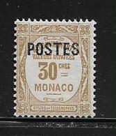 MONACO ( MC2 - 46 ) 1937  N° YVERT ET TELLIER  N° 145   N** - Monaco